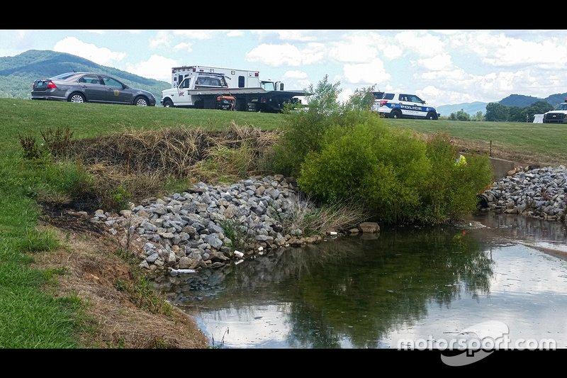 Site de laccident davion de Dale Earnhardt Jr.
