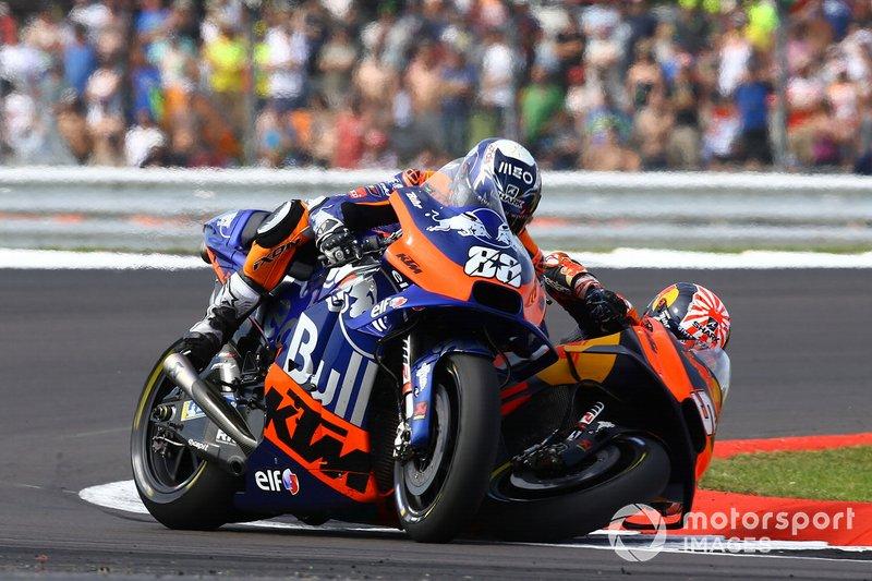 Johann Zarco, le Red Bull KTM Factory Racing et Oliviera