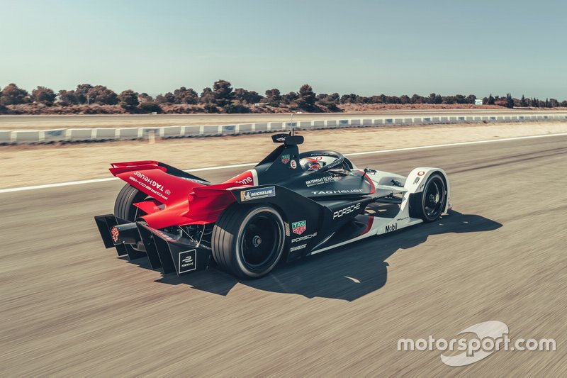 Porsche Formula E team, livrée 99X Electric