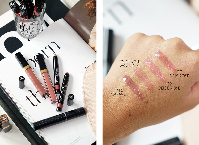 Meilleur Chanel Neutrals Rouge Coco Gloss et Jumbo Crayon