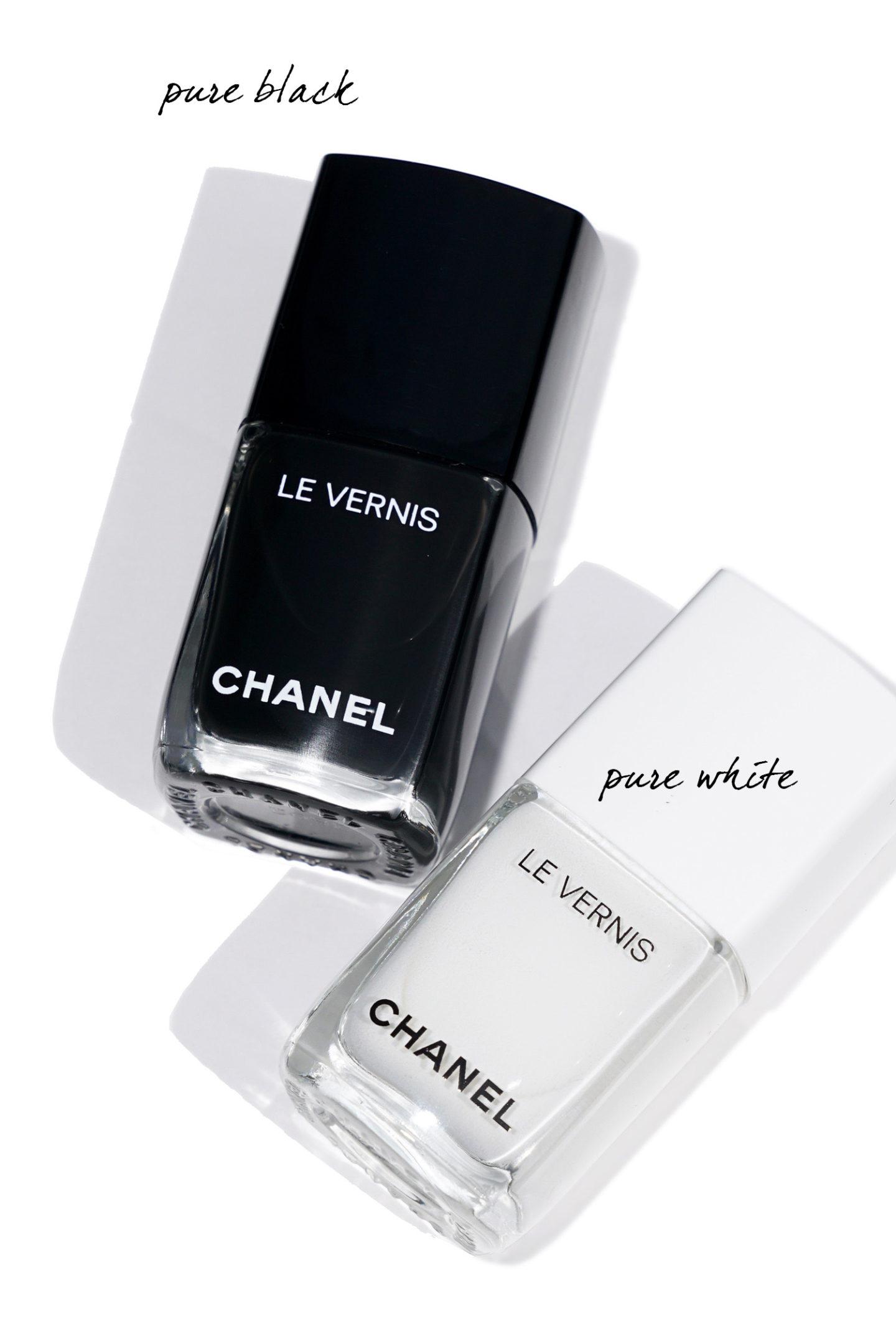 Chanel Automne 2019 Le Vernis Noir Pur et Blanc Pur