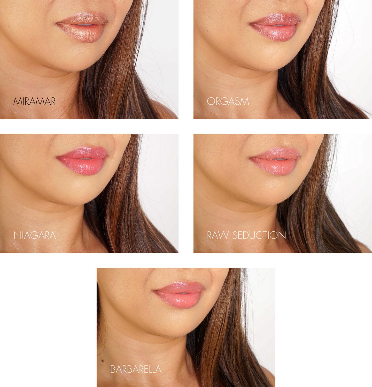 Échantillons de rouge à lèvres NARS