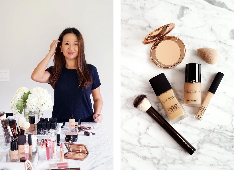Meilleures fondations et poudres de maquillage