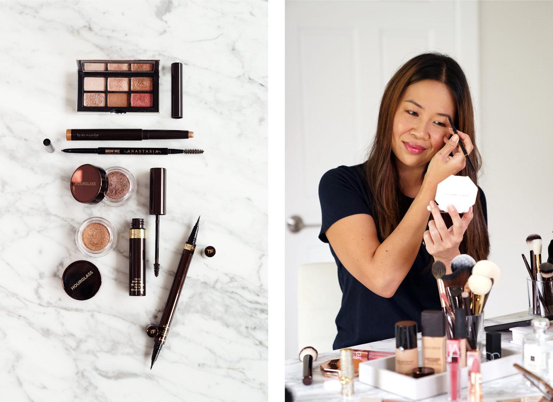 Agrafes de maquillage pour les yeux