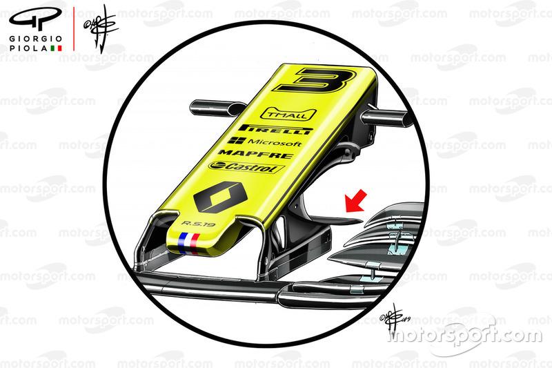 Renault F1 Team R.S.19 nez