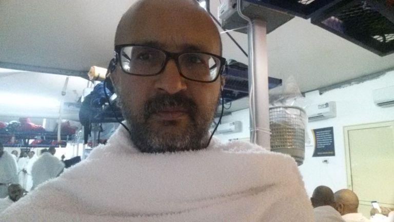 Anwar Tambe est au Hajj en Arabie Saoudite
