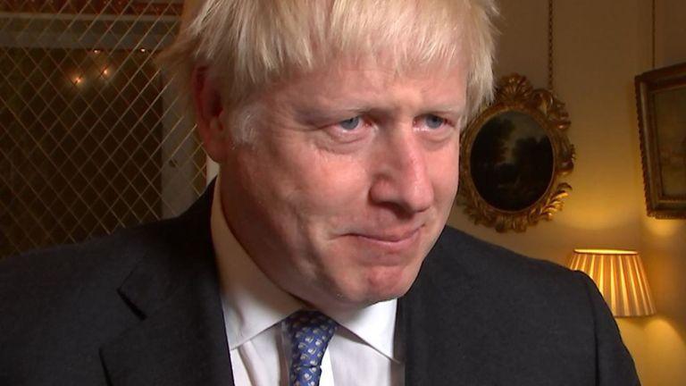 "Boris Johnson accuse l'UE d'être ""un peu négative"". sur les négociations de l'accord Brexit"