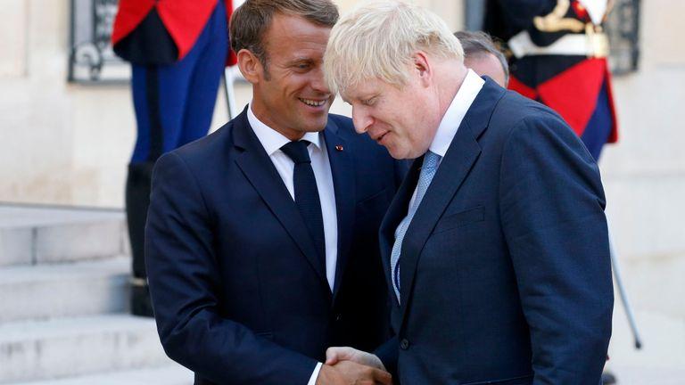 Boris Johnson et Emmanuel Macron se retrouveront au sommet en France