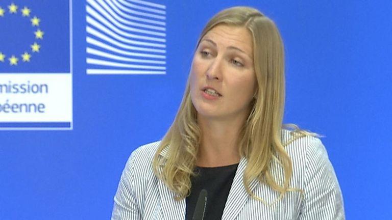 La Commission européenne a déclaré que la lettre de Boris Johnson ne fournissait pas de solution opérationnelle légale & # 39; au problème de la frontière irlandaise