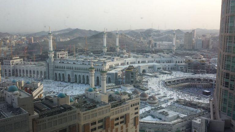 Le Haj à la Mecque