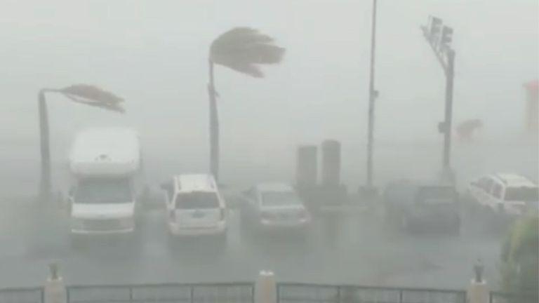 L'ouragan Dorian a frappé St Thomas mercredi dans les îles Vierges américaines