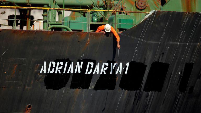 Le pétrolier a été renommé Adrian Darya-1