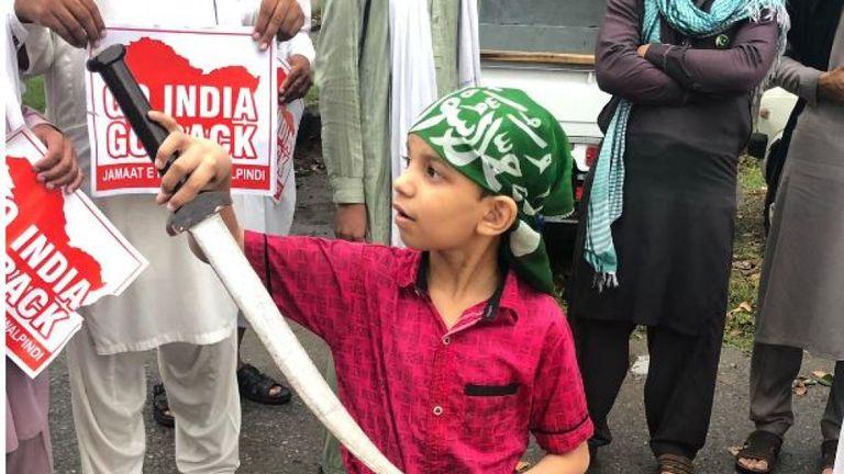 Des manifestations simultanées ont eu lieu dans d'autres villes du Pakistan
