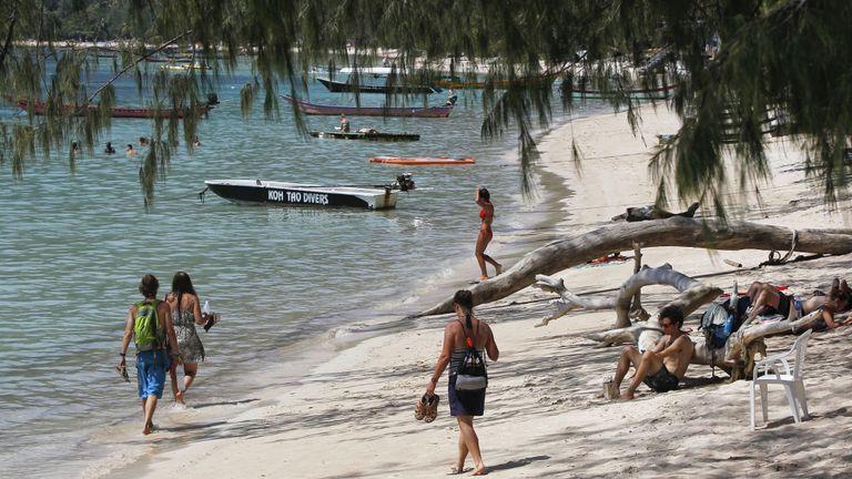 Les corps de Hannah Witheridge et David Miller ont été retrouvés sur la plage de Sairee à Koh Tao