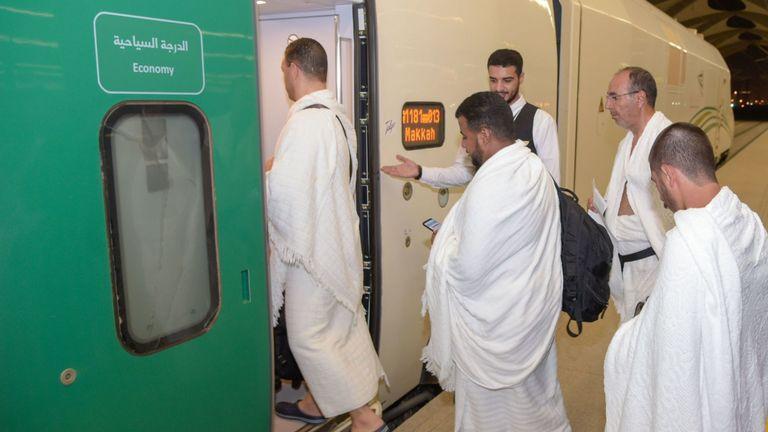 La nouvelle ligne de chemin de fer à grande vitesse reliant La Mecque à Médine aidera les pèlerins à atteindre leur destination
