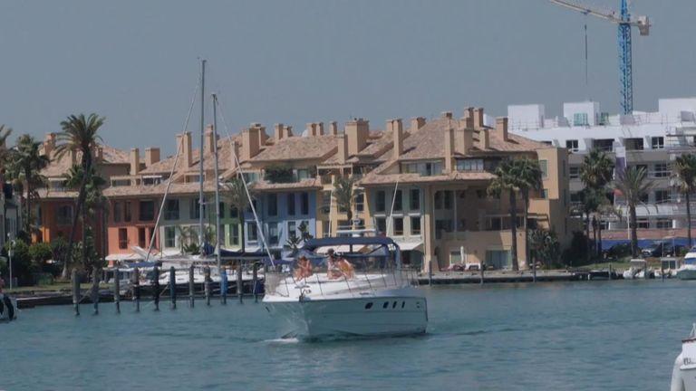 Prince Andrew est en vacances dans le sud de l'Espagne