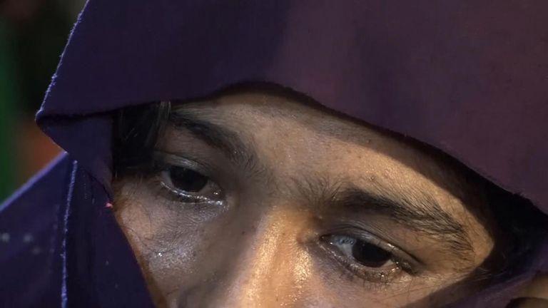 Shafika: «Je me suis sentie très mal de donner naissance à l'enfant. Je me suis souvenu de l'horreur du viol alors que j'avais accouché.