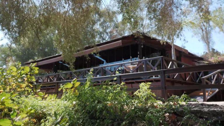 Le personnel du restaurant Cancha Dos a déclaré que l'ancien couple avait mangé dans une zone spécialement bouclée