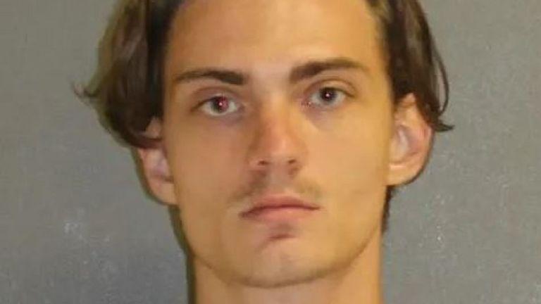 """Tristan Scott Wix aurait déclaré que """"100 victimes seraient une bonne chose"""". Pic: Bureau du shérif du comté de Volusia"""