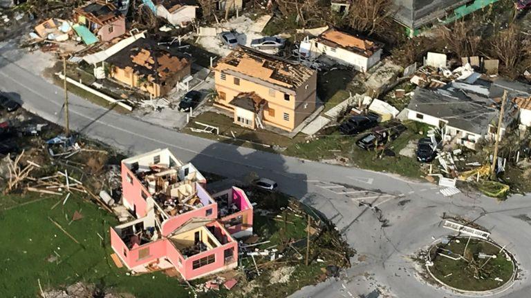L'île Great Abaco a été la plus touchée par l'ouragan Dorian