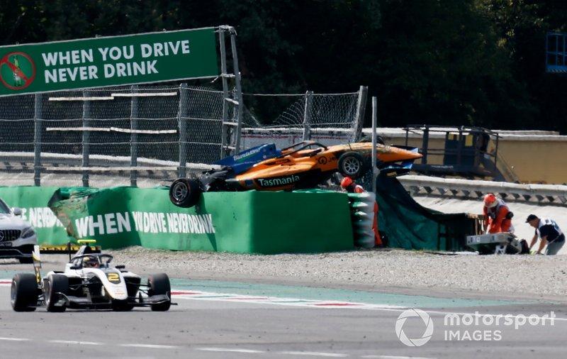Alexander Peroni, Campos Racing après laccident