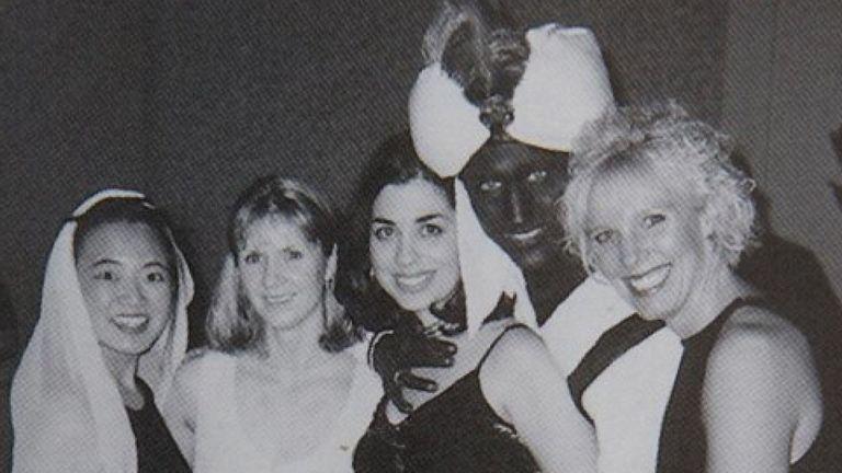 La photo a été publiée dans l'annuaire 2001 de la West Point Grey Academy. Pic: Time / West Point Grey Academy