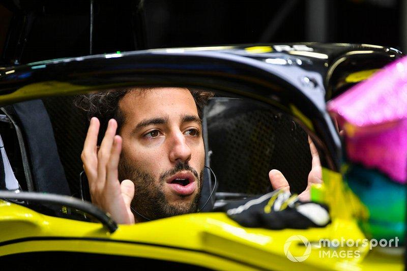 Daniel Ricciardo, équipe Renault F1