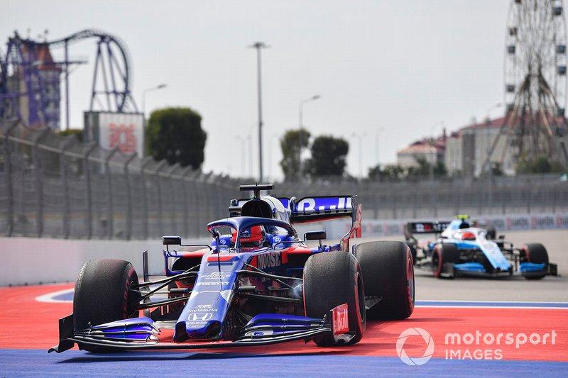 Daniil Kvyat, Toro Rosso, sarrête en FP1