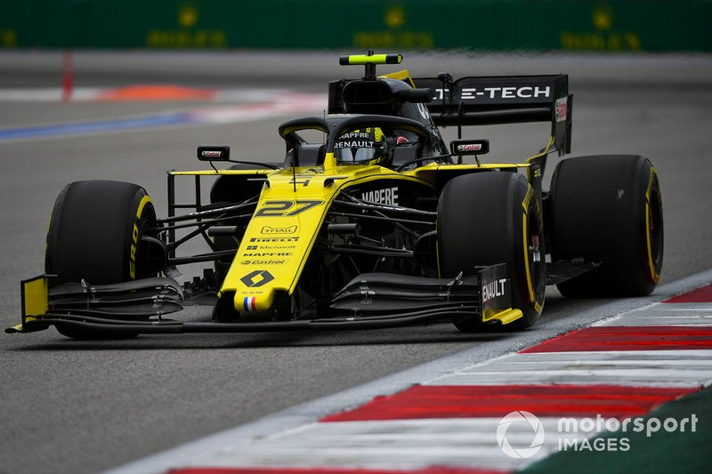 6: Nico Hulkenberg, Renault F1 Team R.S. 19, 133.289