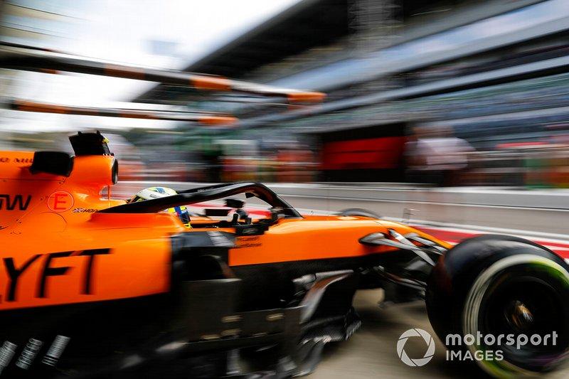 7: Lando Norris, McLaren MCL34, 133.301