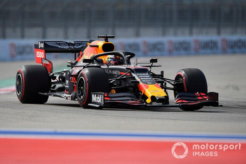 9: Max Verstappen, Red Bull Racing RB15, 132.310 (avec une pénalité de 5 places sur la grille)