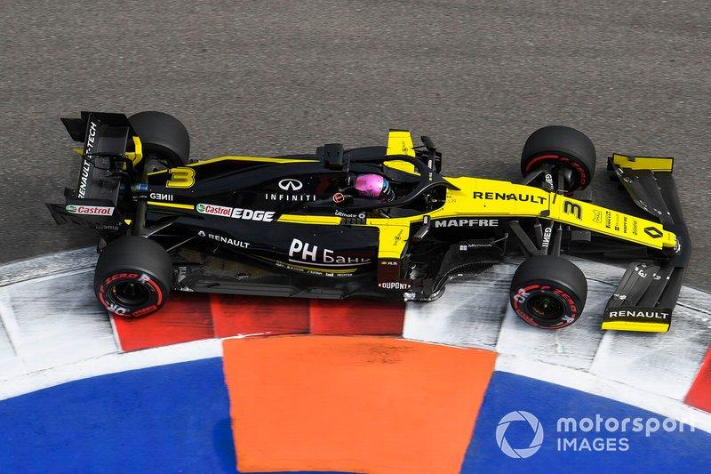 10: Daniel Ricciardo, Renault F1 Team R.S.19, 133.661