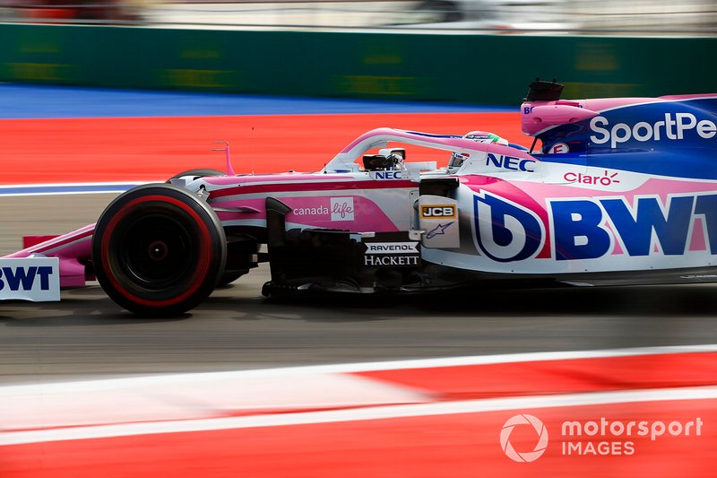 11: Sergio Perez, Racing Point RP19, 133.958