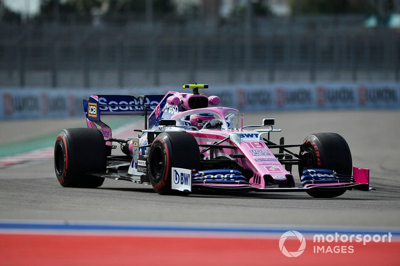 14: Lance Stroll, Racing Point RP19, 134.233