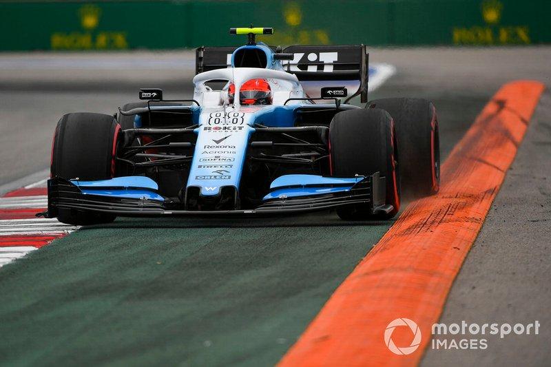 19: Robert Kubica, Williams FW42, 136.474 (derrière le début de la grille)