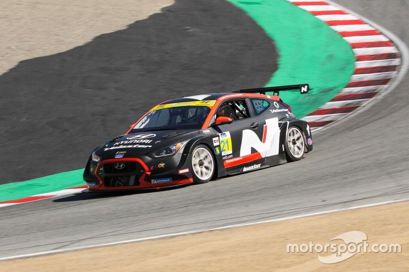 # 21 Bryan Herta Autosport W Curb-Agajanian Hyundai Veloster N TCR, TCR: Mason Filippi, Harry Gottsacker