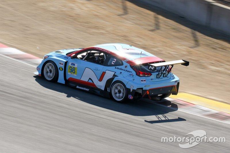 Bryan Herta Autosport W Curb-Agajanian Hyundai Veloster N TCR, TCR: Mark Wilkins, Michael Lewis