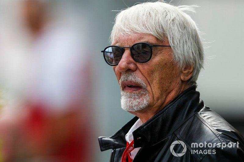 Bernie Ecclestone, président émirite de Formule 1