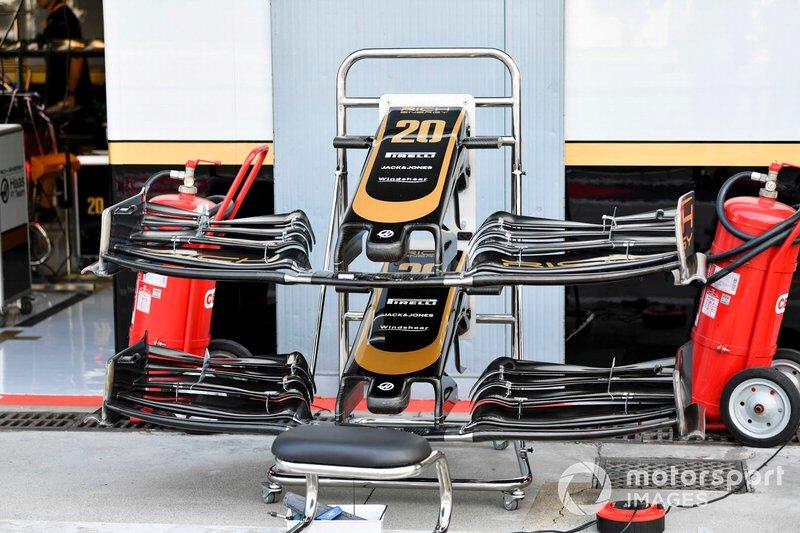 Aile avant du Haas F1 Team VF-19