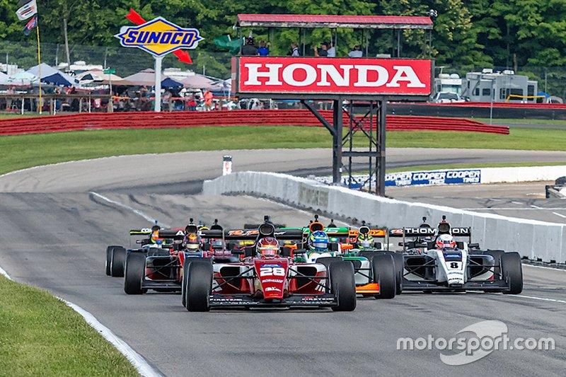 Lentrée de Kyle Kirkwood dans RP Motorsport mène le groupe Indy Pro à Mid-Ohio.