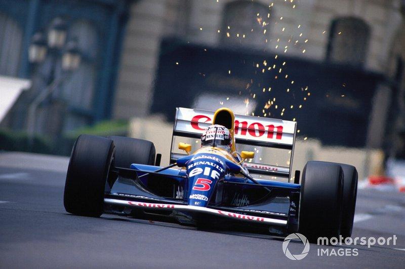 = 10: Nigel Mansell, 55 ans