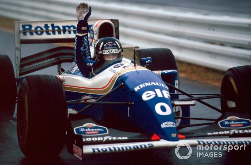 15: Damon Hill, 45 ans