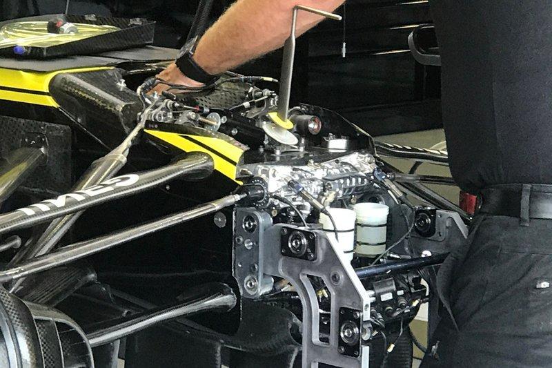 Détail avant Renault F1 Team R.S.19