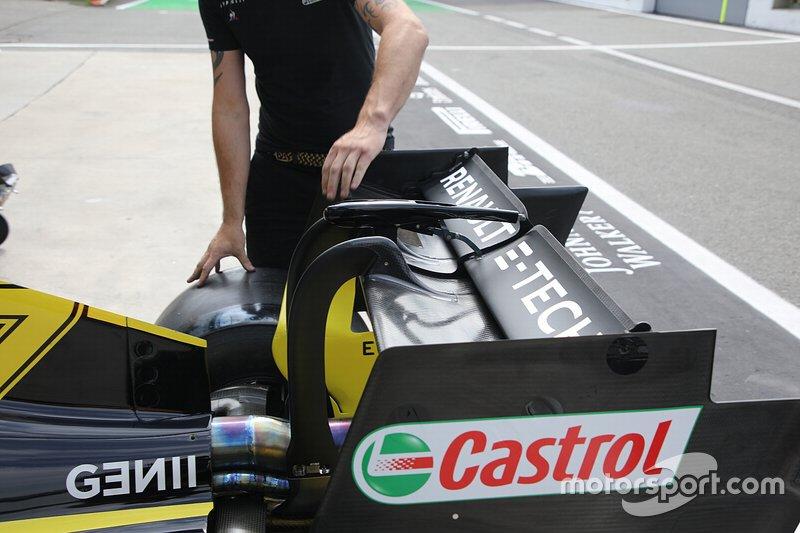 Aile arrière Renault F1 Team R.S.19