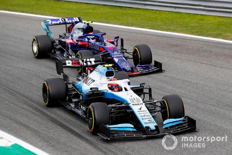 Robert Kubica, Williams FW42 et Pierre Gasly, bataille de Toro Rosso STR14