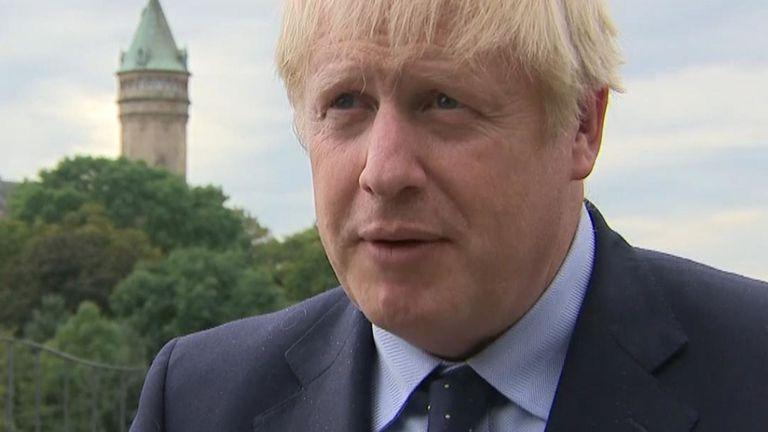 Boris Johnson était absent de la conférence de presse conjointe avec le Premier ministre luxembourgeois