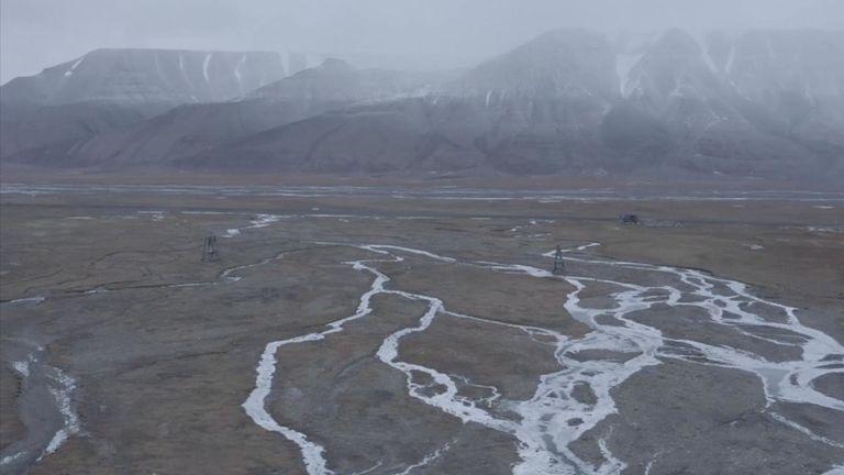 La couverture neigeuse dans l'Arctique a diminué de 1 million de milles carrés depuis 1967