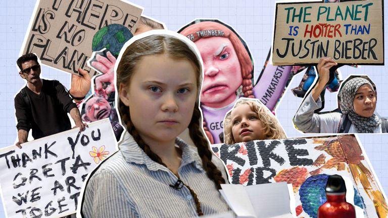 Greta Thunberg, activiste du changement climatique, n'avait que huit ans lorsqu'elle est devenue passionnée par la planète