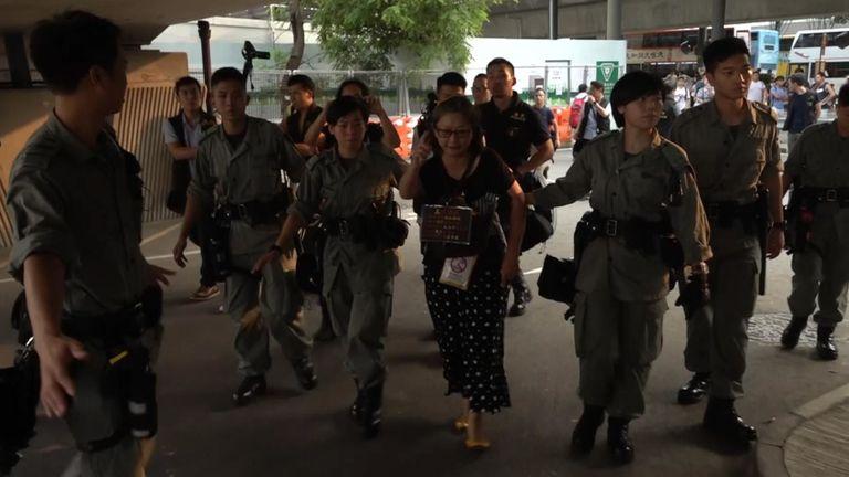 La confiance dans la police est à son plus bas niveau à Hong Kong