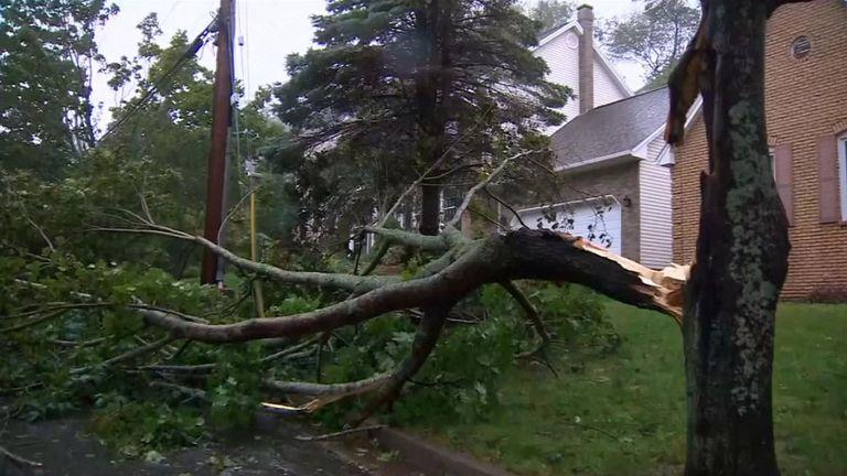 La tempête a forcé des évacuations dans les régions du Canada les plus menacées